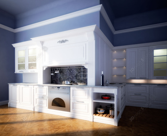 Cesar Elite 3D model kitchen